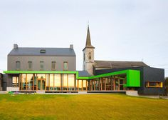 Gallery - School Barvaux-Condroz / LR Architects - 6