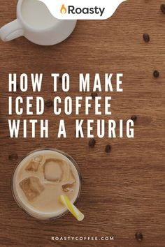 If you're trying to avoid paying money for an iced coffee when you already have a Keurig at home, you've come to the right place! It's 100% possible and surprisingly easy to do! Use our how-to guide to find out tips and tricks we've put together so you can get the most out of your home-brewed iced coffee. #coffeelovers #icedcoffee #roastycoffee #keurigcoffee Thai Iced Coffee, Vietnamese Iced Coffee, Making Cold Brew Coffee, How To Make Ice Coffee, What Is A Frappe, Coffee Course, Coffee Brownies, Coffee Benefits, Latte Recipe