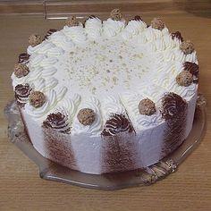 Baileys - Mascarpone - Torte - Jenny L. Fondant Wedding Cakes, Fondant Cakes, Easy Cookie Recipes, Cake Recipes, Baileys Torte, Mousse Au Chocolat Torte, Mascarpone Cake, Torte Cake, Macaron