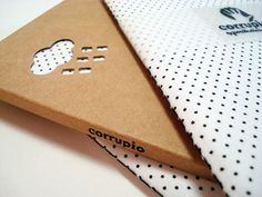 Notebook with black polka dots by corrupiola on Etsy, $9.00