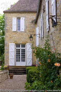 and this one will be my little french villa Colors- yellow with white shutters not bad.