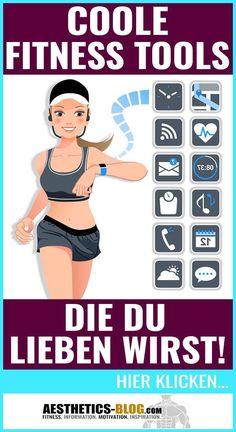 In diesem Blog-Beitrag findest Du eine übersichtliche #Bestenliste der coolsten Fitness-Tools und dem beste Fitness-Zubehör für Dein #Training! #Fitness #FitnessZubehör #Muskelaufbau #Abnehmen #Motivation Yoga Fitness, Training Fitness, Fitness Hacks, Fitness Workouts, Fitnesstraining, Gewichtsverlust Motivation, Tricks, Bodybuilding, Aesthetics