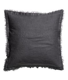 Accent Decorative Throw Pillow Cover Genuine 100% Linen Natural Flax Cushion Cover 16-inch by 16-inch Pure Linen Bordered (Charcoal Grey) Cushion Cover http://www.amazon.com/dp/B00ZRW2ZSQ/ref=cm_sw_r_pi_dp_QTRHvb1WNMZBJ