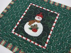 Hey, I found this really awesome Etsy listing at https://www.etsy.com/listing/213189632/quilted-christmas-mug-rug-snack-mat