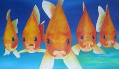 Goldfische von Atelierbarbara1 auf Etsy