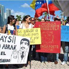 No me deja de causar gracia el #aysi, a pesar de que tengan razón. Abran el consulado de Miami. #Venezuela