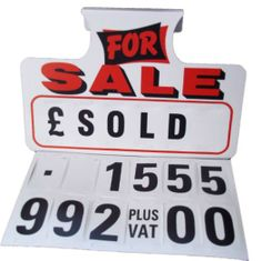for sale sign generator - Template