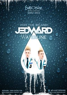 Good Luck at Eurovision Tonight Jedward! Everyone vote Ireland song number 23.
