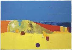 Nicolas de Staël (1914-1955) Agrigente signed 'Staël' (lower left); signed, titled and dated 'Agrigente Août 1953 Staël' (on the reverse) oil on canvas 35 1/8 x 51¼in. (89.2 x 130cm.) Painted in 1953