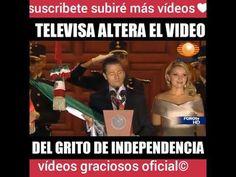 Televisa altera el vídeo del grito de independencia 2015(VÍDEO ORIGINAL)...