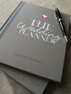 Illustries new Wedding Planner incase your wedding budget doesn't stretch to the real thing! A notebook style journal with loads of fun advise, prompts and pages to make notes on your budget, contacts, wedding party etc  www.illustries.com
