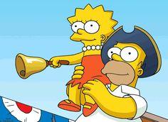 Homer as Town crier