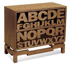 Bassett Mirror Co. Alphabet Chest - A1934
