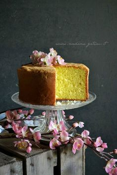 pan di spagna Sponge Cake, Sweet Bread, Vanilla Cake, Cheesecake, Food And Drink, Desserts, Pound Cakes, Dessert Ideas, Base