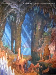 The Glittering Caves - Ted Nasmith