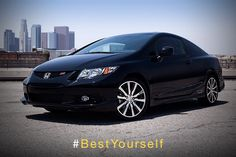 Check out how the 2013 #Honda #Civic continues to push forward. #BestYourself