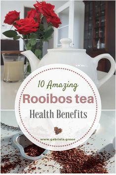 10 Amazing Health Benefits of Rooibos Tea - Gabriela Green Rooibos Tea Health Benefits, Tea Benefits, Allergies, Amazing, Green, Happy Life, Athletes, Mindfulness, Wellness