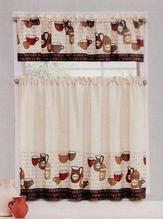 Coffee Talk Beige Brown Earthtones 28 Wide X 36 Length