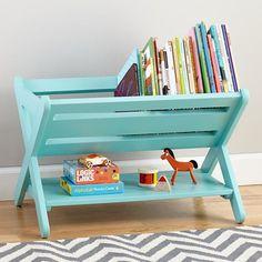 Bebek ve çocuk odalarına kitaplık