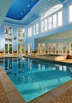 i love indoor pools. Interior Design Ideas. Home Design Ideas