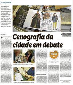 Divulgação pelo CORREIO BRAZILIENSE sobre a Mostra das Escolas em Brasília e sobre nossa campanha de financiamento coletivo para a realização da mesma. As fotos registram o momento de recebimento dos primeiros cadernos que serão expostos!  Versão web da matéria no link: http://www.correiobraziliense.com.br/app/noticia/diversao-e-arte/2014/12/18/interna_diversao_arte,462500/mostra-que-escolhe-artista-da-quadrienal-de-praga-precisa-de-financiamento.shtml  #BrasilBrasiliaPraga #BrasilnaPQ15