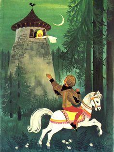 """Rapunzel"" by Felicitas Kuhn"