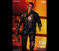 #Terminator2 #Terminator #Battle #DamagedEdition #Masterpiece #JudgementDay #ArnoldSchwarzenegger #Figurines #movable #TerminatorFans #fans #Enterbay #EnterbayUSA #movie #muscular #body #LEDLight #M79Grenade #launcher #accessories #mightyweapons #interchangeable #M79 #M134 #MiniGun #Grenade #blackcarrierbag