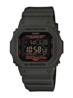Casio Men's G5600KG-3CR G-Shock Military Green Multi-Function Digital Watch from Casio