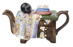 The 'Quiltmaker' one cup Teapot van CartersofSuffolk op Etsy, £24.99