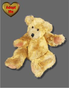 72d41965cb8 Ty Vintage 1994 Jointed Brown Teddy Bear Sam 16in Toy  Ty