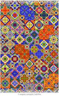 Pareo LADRILHO | created using cement tiles as reference