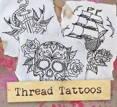Thread Tattoos (Design Pack) | Urban Threads: Unique and Awesome Embroidery Designs