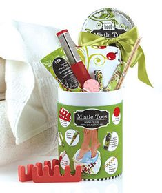 Repin & tag #OnyxBrands for your chance to win our Mistle Toes Spa Pail- Contest Ends 12/13/12