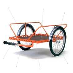 EuroLoad Trailer | Bicycle Delivery Trailer | Pashley