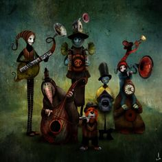 Mystical Illustations by Alexander Jansson | Cuded