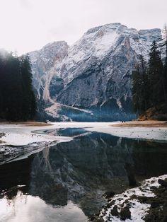 Lago di Braies Italy Dolomites