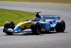 Fernando Alonso  F1 Renault Team World Champion