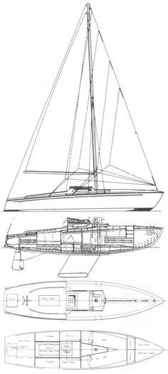 Barchetta Class drawing on sailboatdata.com