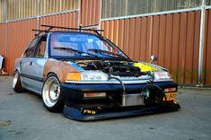 Rad Honda Civic #rust | LIKE US ON FACEBOOK https://www.facebook.com/theiconicimports