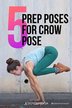 5 Yoga Poses to Prepare for Crow Pose #yoga #fitness #strength Healthy Life, Healthy Living, Crow Pose, Asana, Yoga Fitness, Yoga Poses, Strength, Healthy Lifestyle