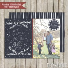 Personalized Photo Christmas Printable Card No. by TheMeekBoutique, $15.00