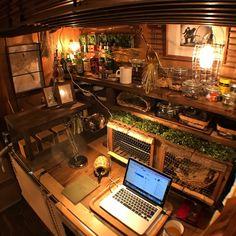 uuung2o22さんの、雑貨,ハンドメイド,6畳カッフェ,押入れ喫茶,押入れDIY,押入れリメイク,押入れ改造,押入れ,DIY,和室を改造,和室,My Desk,のお部屋写真