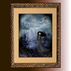 Age of Aquarius by Tonya Hernandez on Etsy Age Of Aquarius, Zodiac Signs Aquarius, Handcrafted Jewelry, Unique Jewelry, Goth Girls, Art Girl, Astrology, Gothic, Art Prints