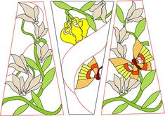Free Stained Glass Patterns ::: Chantal's Stained Glass Patterns:::