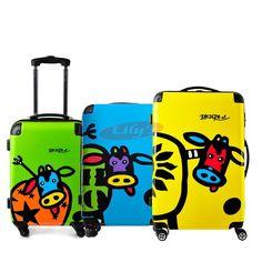 EDDAS Purple Trolley Bag 25