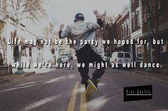 So let's dance
