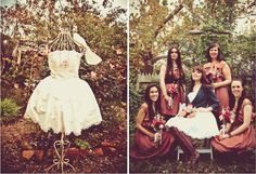 vintage garden picture | ... just love the way Love Caryn Photography captured their vintage style
