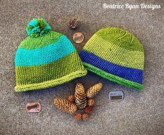 Simple Squiggle Beanie... Free Crochet Pattern!!! - ............Beatrice Ryan Designs............