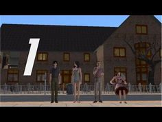 ||AND IN MY IMAGE I CREATED THEM|| Zombie Chicken Plays: The Sims 2, Episode 1 - YouTube