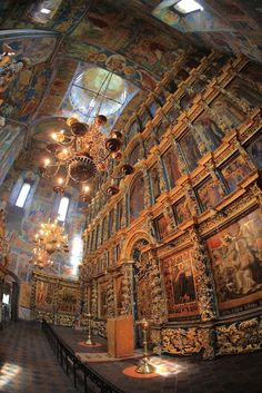 The beautiful Church of Elijah the Prophet in Yaroslavl, Russia.